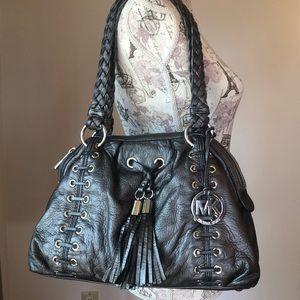 Vintage Micheal Kors Hobo silver bag